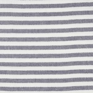 "Musselin / Double Gauze ""Stripes"" in marine-weiß"