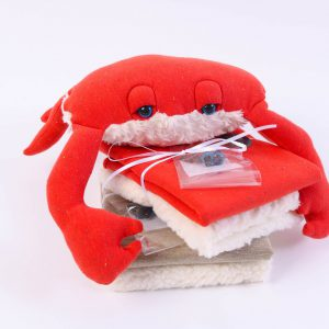 "Stoff-Paket ""Cody the Crab""  (Farbe wählbar)"