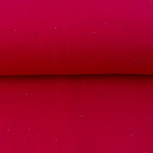 "Kuschel-Sweat ""cozy-colors RED"" mit kleinen Sprinkles"