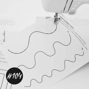 """#104 """"Papiervorlagen zum nähen lernen""""  GRATIS   +Video"""