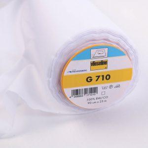 Vlieseline  G 710 Bügeleinlage z.B zum Verstärken von feinen Stoffen  90 cm breit