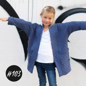 "#103 ""Kimono-Jacket"" Girls eBook +Video"