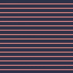 """Soft-Sweat """"Marine Stripe Maxi"""" in marine/ rose"""