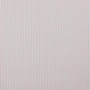 Baumwollstoff gestreift 0,3 mm rose/ weiß