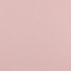 """Baumwollstoff  """"Petit dots"""" in rosé mit weißen Pünktchen"""