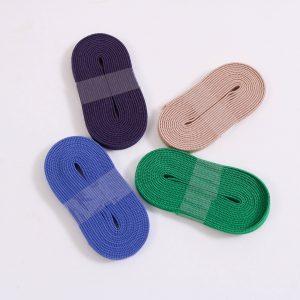 2m. mini Gummiband /Gummilitze 0,5mm. breit   (Farbe wählen)