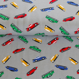 "Jersey ""Cars"" in grau"