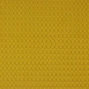 BIG Waffel-Piquet 100% Baumwollstoff in senf