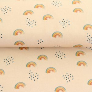 "Soft-Sweat ""watercolored Rainbow"" in sand/bunt"