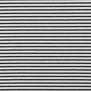 "Romanit-Jersey ""Stripes""  in off-white/ black"