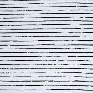 """Jersey """"black Lines"""" in weiß/schwarz"""