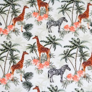 "Jersey ""Safari Dream""  in ecru/bunt"