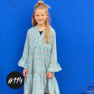 #114 Willow Dress / Blouse Girls  eBook + Video