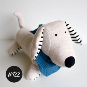 "Aktion!  #122 ""FRED the Sausage-Dog""  süßer Kuscheldackel   Schnittmuster +Video"