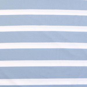 "Jersey ""breton Stripes""  in bleu/weiß"