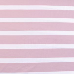 "Jersey ""breton Stripes""  in soft-rose/weiß"