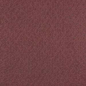 feiner Pointoille Jersey mit Lochmuster in grapevine