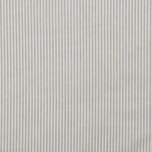 Baumwollstoff gestreift 0,3 mm sand/ weiß