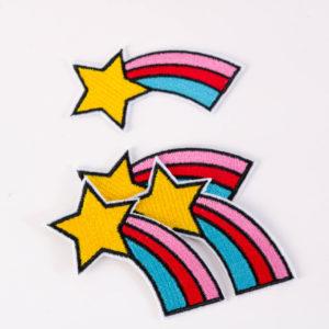 """PATCH"" ""Sternschnuppe"" 7×4 cm   (Nr.5)"