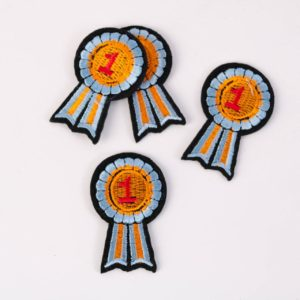 """""""PATCH"""" """"Medaille 1"""" 5×3 cm   (Nr.8)"""