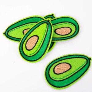 """PATCH"""" """"green Avocado""""   4×6 cm   (Nr.20)"""