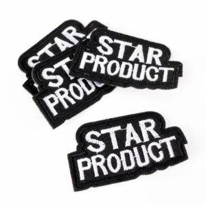 "PATCH"" ""Star Product""   4×6 cm   (Nr.22)"