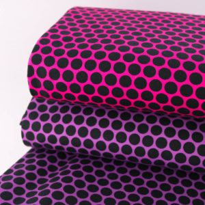 """Angebot! Sommer-Sweat """"lots of Dots"""" in pink/schwarz by Lyckelig Design"""