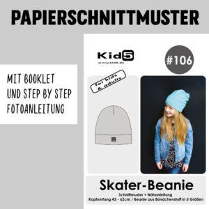 #106PP Papierschnitt Skater Beanie + Booklet