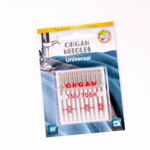 Set Universal-Nadeln von Organ  Stärke: 70-90 / 10 Stück