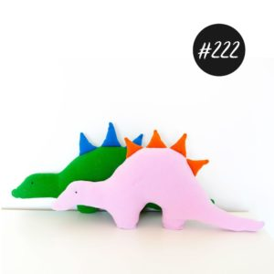 "#222 ""Dinokissen DIETER""   freeBook +Video"