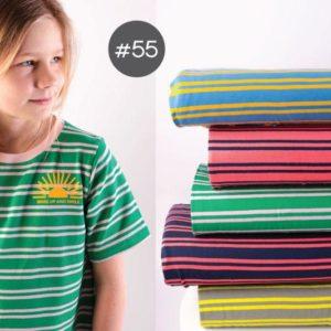 "SEWING-KIT Stoff+Bügelbild+eBook ""Longsleeve und T-Shirt Kids""   (Farbe wählbar)"