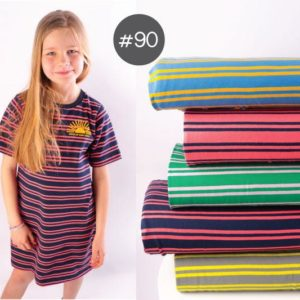 "SEWING-KIT Stoff+Bügelbild+eBook ""Sleeping-Dress"" Kids   (Farbe wählbar)"