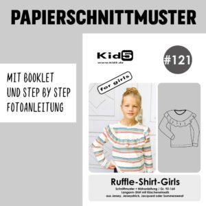 #121PP Papierschnitt Holly-Dress Girls + Booklet