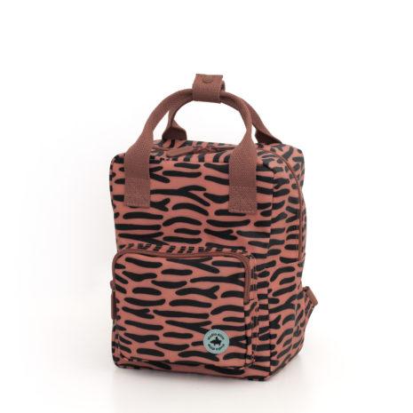 1702022 - Studio Ditte Tiger stripes backpack - front
