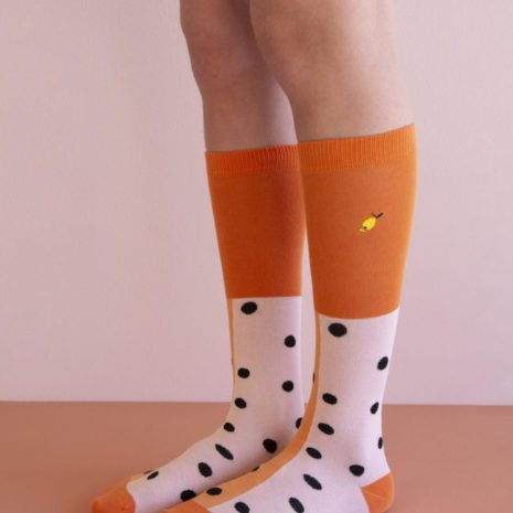 1801713 1801714 1801715 1801716 1801717 1801718 1801719 1801720 Kneehigh socks - black freckles -2