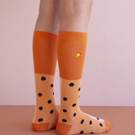 1801713 1801714 1801715 1801716 1801717 1801718 1801719 1801720 Kneehigh socks - black freckles -3
