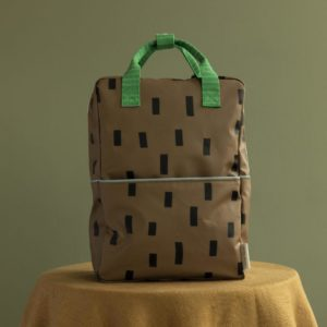 "STICKY LEMON  großer Rucksack  ""Sprinkles"" / in brassy green/ apple green"