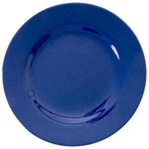 """Melamin Frühstücksteller  """"navy blue""""     von *rice"""