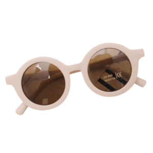 """Retro-Sunglasses"" for small Kids    in soft-rose"