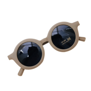 """Retro-Sunglasses"" for small Kids    in cappucino"