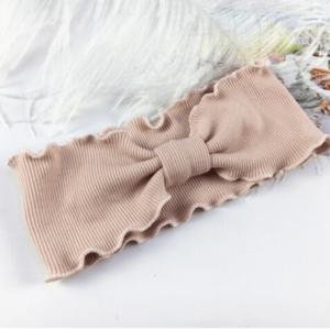 """""""Ripp-Haarband"""" für kleine Mädchen …super soft in altrosa"""