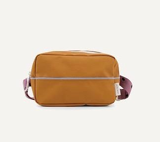"STICKY LEMON  Gürteltasche  ""fanny pack""   / in  caramel fudge + lila Gurt"