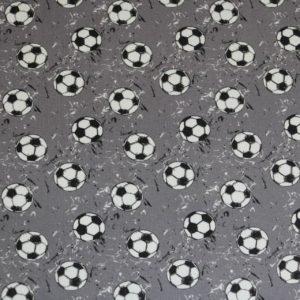 "Jersey  ""Soccer Balls""  in grau"