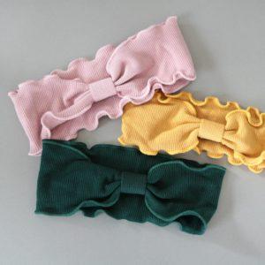"""""""Ripp-Haarband"""" für kleine Mädchen …super soft. (Farbe wählen)"""