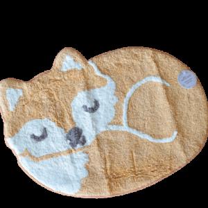 """kleiner Kinderteppich  """"sleeping Fox""""  aus Baumwolle  von SASS AND BELLE"""
