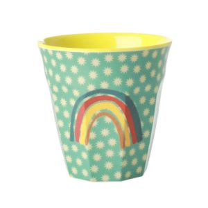 "Melamin Becher  Print ""rainbow and stars""     von *rice"