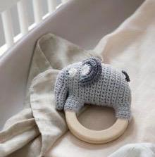 """Häkel Rassel """"Fanto the Elephant""""   von SEBRA"""