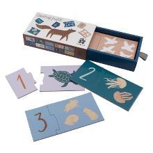 "Zahlen-Puzzle 1-10  ""Seven Seas/Daydream""   von SEBRA"
