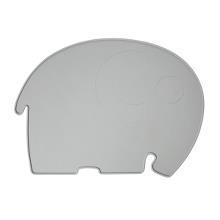 "Silikon Platzdeckchen ""Fanto the Elephant""   in grey    von SEBRA"