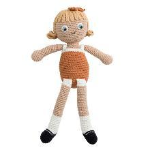 """wunderschöne Häkel-Puppe  """"Camille""""  von SEBRA"""